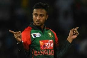 Bangladesh's Shakib Al Hasan Fined For Shouting at Umpire