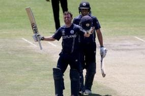ICC World Cup Qualifiers: Vibrant Scotland Brush Aside UAE