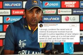Dear Indian Cricketers, Have You Seen Jayawardene's Tweet Condemning Violence In Sri Lanka?
