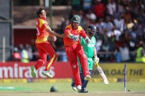 ICC World Cup Qualifier: Zimbabwe Beat Ireland to Go Top of the Table