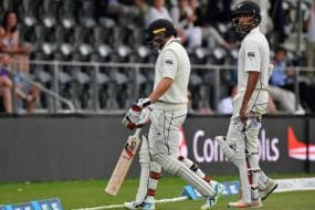 Tom Latham, Jeet Raval Start Cautiously as Kiwis Chase 382