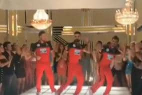 Virat Kohli Shows Dance Moves With Chahal and McCullum