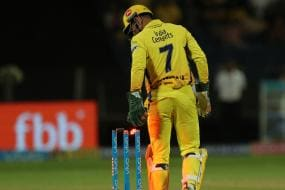 IPL 2018: Dhoni Sets New Stumping Record in Final Against Hyderabad