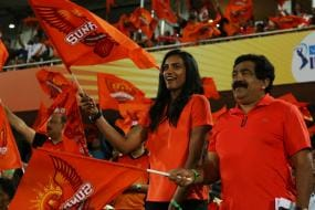 IPL 2018: Rested From National Duty, PV Sindhu Enjoys SRH Game