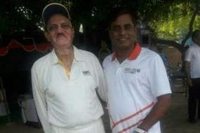 BCCI Acting President CK Khanna in New Avtar in Exhibition Match