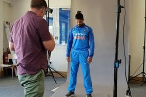 Team India Face the Lenses Before Taking Guard Against Ireland and England