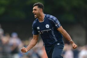 Seamer Safyaan Sharif Holds Nerve as Scotland-Ireland T20I Ends in Tie