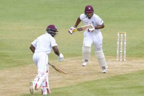 2nd Test: Smith Battles for Windies on Rain-truncated Day Against Lanka