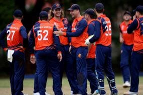 1st T20I: Seelaar's All-round Show Guides Netherlands to Victory