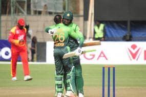 Imam, Shadab Star as Pakistan Crush Zimbabwe in First ODI