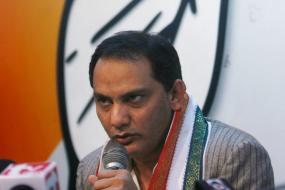 Mohammad Azharuddin Appointed President of Congress' Telangana Unit