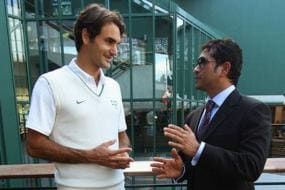 Tendulkar Ready to Help Federer Master the Straight Drive, But Conditions Apply
