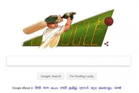 Google Pays Tribute to Sir Donald Bradman With a Doodle on his 110th Birth Anniversary