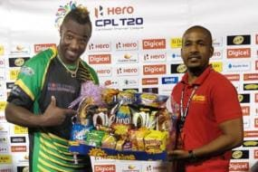 Russell Hits 49 Ball 121 & Takes Hat-trick in Sensational CPL Captaincy Debut