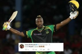 Andre Russell Stuns Social Media With Century & Hat-trick Double in CPL