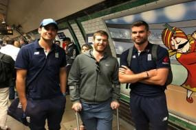 Alastair Cook Travels by Tube For Farewell Test