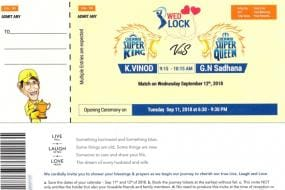 Chennai Super Kings Superfan Gets His Wedding Invite Designed as Match Ticket