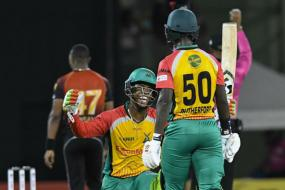 CPL 2018: Rutherford, Heytmer Guide Warriors to Second Spot With Rapid Win Over Knight Riders