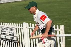 Warner Walk-off After 'Hurtful Sledge' by Phil Hughes' Brother