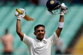 In Pics | Prithvi Shaw Becomes Youngest Indian to Score a Century on Debut