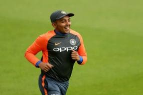WATCH | I Was Nervous Initially But Pressure Eased Out After 5-10 Overs: Prithvi Shaw