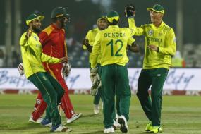 Imran Tahir Bowls South Africa to 34-run Victory Over Zimbabwe