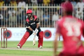 Mohammad Shahzad Lights Up T-10 League with 16-ball 74* as Rajputs Chase 95 in 4 Overs