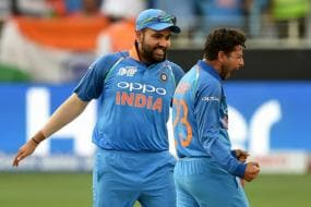 Rohit Moves to No.7 Spot; Kuldeep Reaches Career High in ICC T20I Rankings