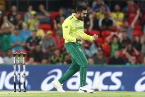 South Africa Down Australia by 21 Runs in Rain-Hit T20I