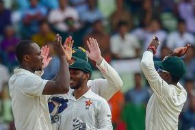 Chatara, Raza Put Zimbabwe on Top in First Bangladesh Test