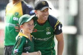 David Warner's Nine-year-old Fan Sam Williams Enjoys a Day to Remember