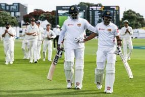 Mendis, Mathews Star With Epic Stand on Wicket-Less Day in Wellington