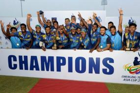 Sri Lanka Beat India by Three Runs to Clinch Emerging Teams Asia Cup