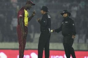 Controversial No-ball Call Disrupts Play as Windies Protest in Mirpur