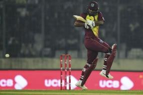 Evin Lewis Bursts into Top Five of ICC T20I Rankings