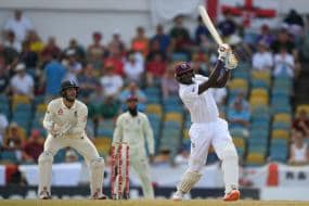 Holder Double Ton Puts West Indies in Complete Control Against England