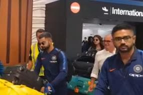 Auckland Abuzz as Team India Touchdown For Three-week Long Tour