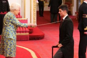 Sir Alastair Cook Officially Receives Knighthood