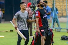 IPL 2019: Kohli and Chhetri Bond During RCB Training Camp