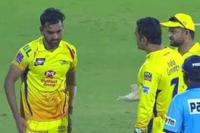 IPL 2019 | Dhoni Loses His Cool in Rare Display of Emotion