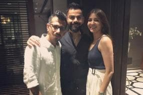Kohli and Wife Anushka Host RCB Team for Dinner