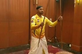 CSK Players Take Up the 'Local Ninja Challenge'