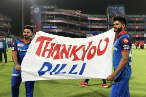 IPL 2019 | DC Thank Home Fans After Victorious End to League Stage