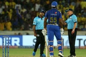 IPL 2019 Final | Pollard Fined For Showing Dissent to Umpires