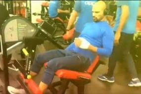 Dhawan Hits the Gym as Race to Get Fit Begins