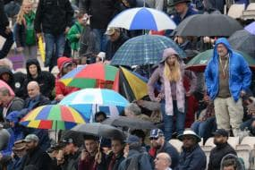 In Pics, South Africa-West Indies Encounter Washed Out