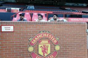 Karthik, Chahal and Vijay Visit Manchester United
