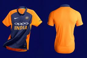 ICC World Cup 2019 | India's Away Orange Jersey to be Worn Against England Officially Unveiled