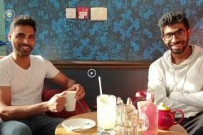 Bumrah & Bhuvneshwar Go on a 'Fast-Bowling Coffee Date'