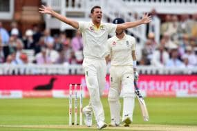 Ashes 2019: Hazlewood Picks Three as England's Batting Falters at Lord's